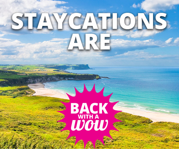 staycations are coming