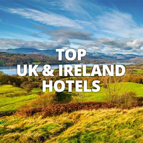 TOP UK IRELAND HOTELS