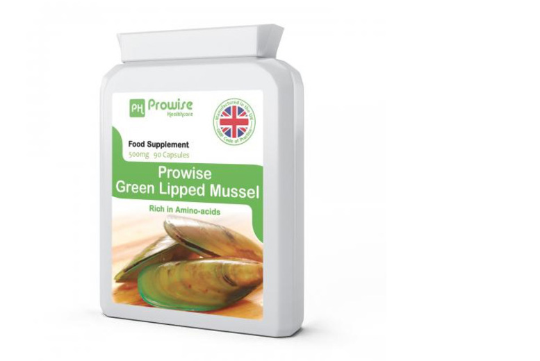 1mnth* Supply Green Lipped Mussel Capsules