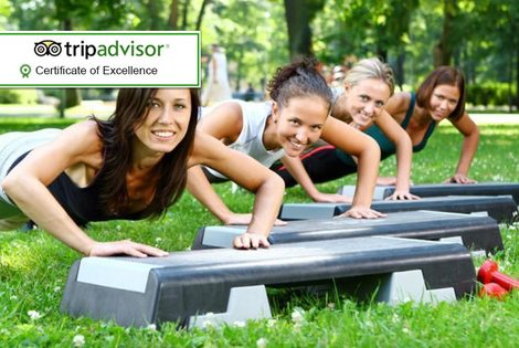 £99 instead of £249 for a two-day 'all-inclusive' ladies-only fitness retreat at Hartington Hall, Derbyshire with Motivate Bootcamp - save 60%