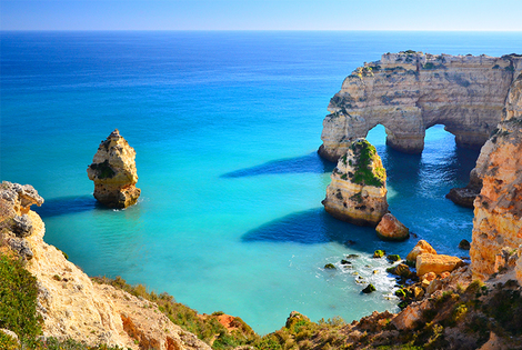 From £119pp (from Cheap Cost Holidays) for a three-night Algarve break with transfers and flights, from £189pp for five nights, or from £239pp for seven nights!
