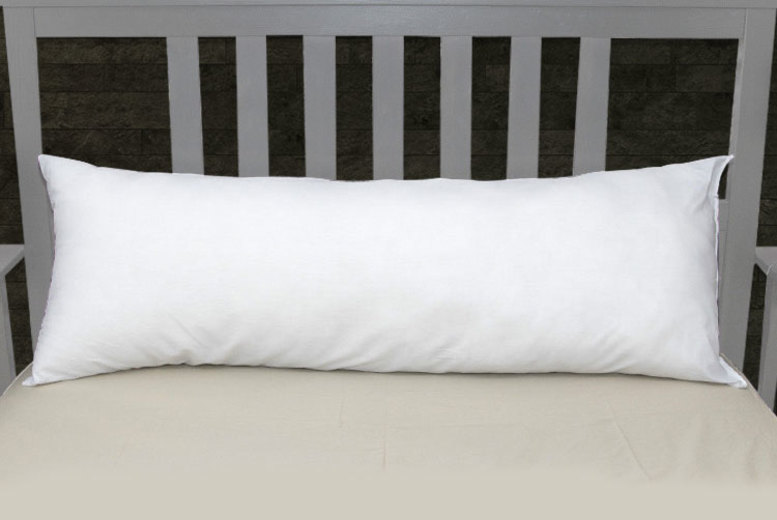 Goose Feather and Down Bolster Pillow - 5 Size Options!