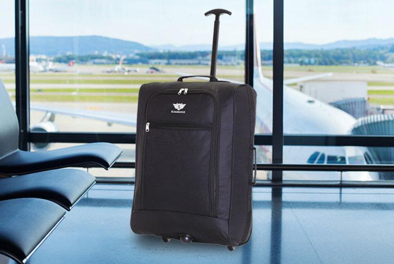 Slimbridge Montecorto Cabin-Approved Suitcase – 4 Colours! for £14.99
