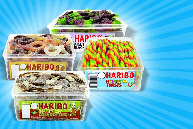 Giant Haribo Tub Shop Wowcher