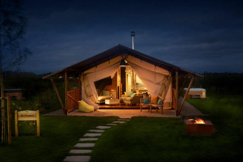3nt Glamping Lodge Stay, Hot Tub & Activities for 6 – Summer Validity!