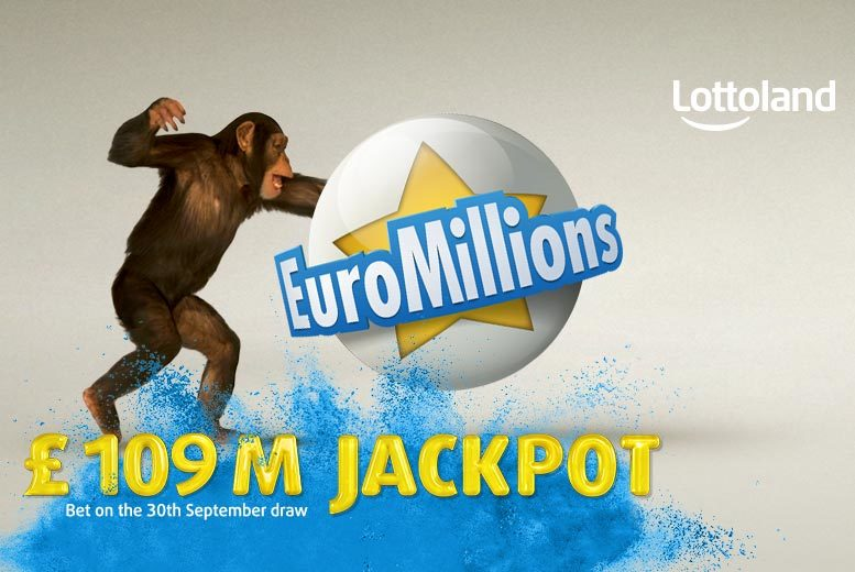 £9 instead of £20 (with Lottoland) for 10 EuroMillions line bets in Friday draws - try your luck on the gigantic £109 million jackpot and save 55%