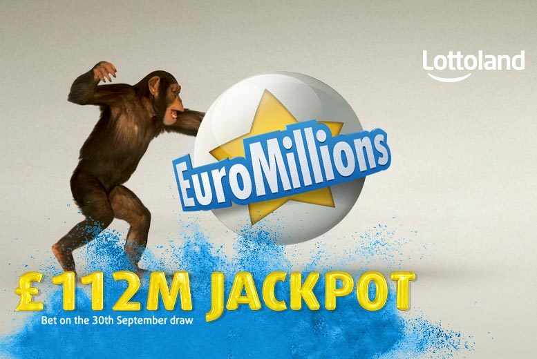 £9 instead of £20 (with Lottoland) for 10 EuroMillions line bets in Friday draws - try your luck on the gigantic £112 million jackpot and save 55%