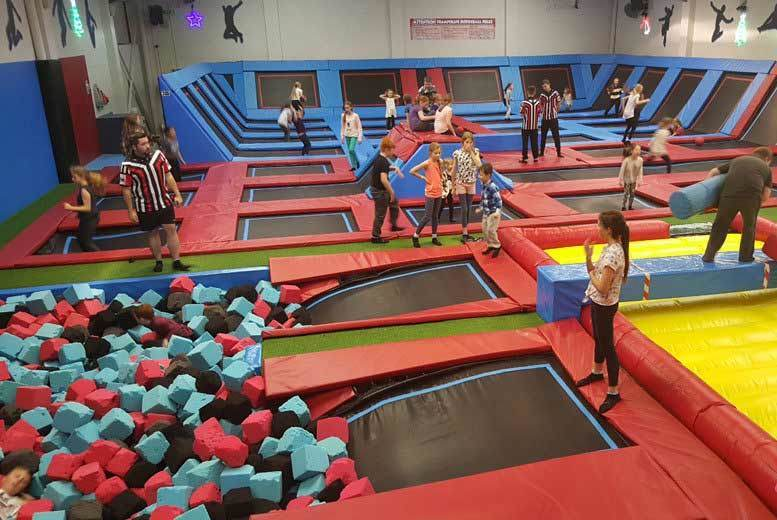 Kids' Trampoline Party for 10 @ Boing Zone – 2 Locations!