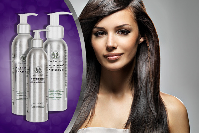 £19 instead of £39.85 (from Coolherbals) for a Nutrigro hair care pack including shampoo, conditioner and serum - save 52%