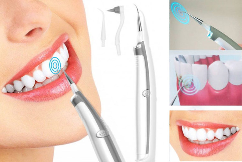 Sonic Pic Electric Tooth Cleaner with LED Light