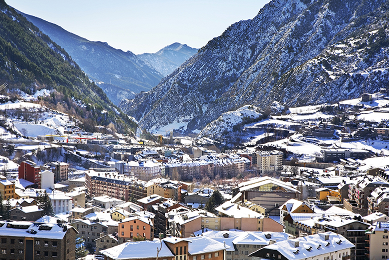 From £89pp for a 3nt Andorra break with flights and wine, from £129pp for 5 nights, from £179pp for a 3nt break with a ski pass, from £219pp for 5 nights - save up to 20%