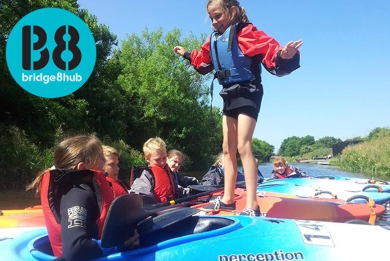 £19 instead of £40 for a ticket to a kids and teens activity camp from Bridge 8 Hub, Edinburgh - get activities from kayaking to paddle boarding and save 52%
