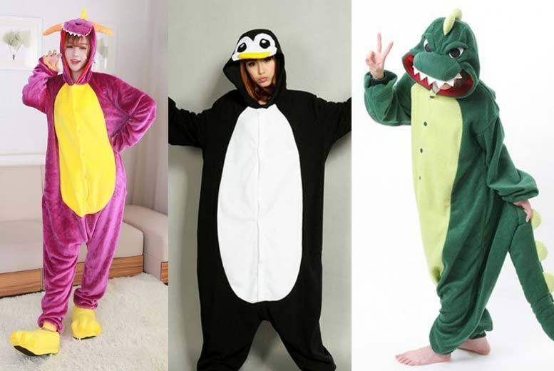 £16 instead of £54.99 (from EFMall) for an animal onesie - choose from three designs and save 71%