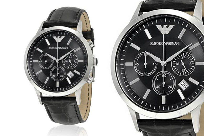 £109 instead of £316 (from Best Watch Company) for an Emporio Armani AR2447 men's chronograph watch - save 66%