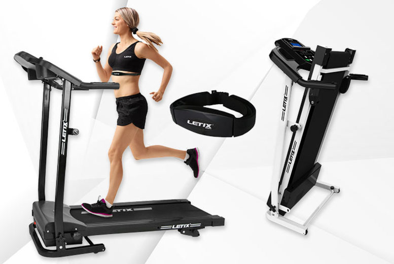 Speedrunner PRO Treadmill with Pulse Belt and Bluetooth - 2 Colours!