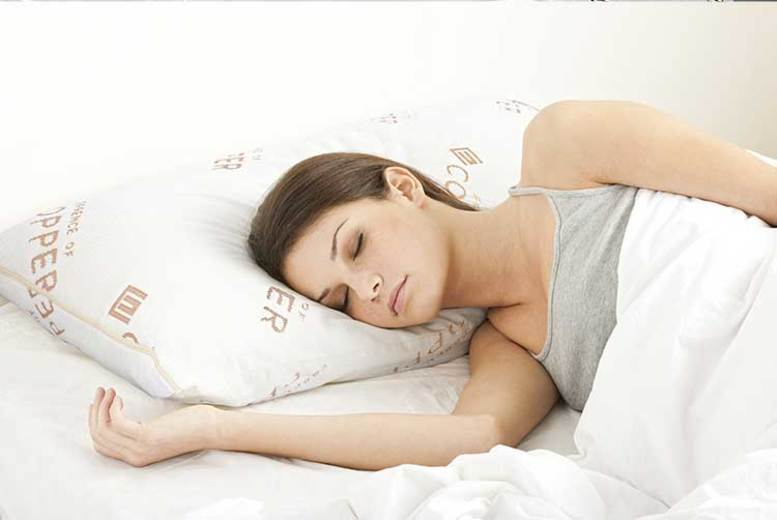 1 or 2 Essence of Copper Memory Foam Pillows