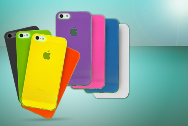 £5 instead of £9.99 (from Planet of Accessories) for a transparent iPhone 4/4s or 5/5s case - pick from eight colours and save 50%