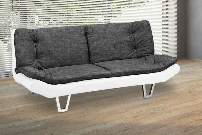 3-in-1 Fabric Sofa Bed