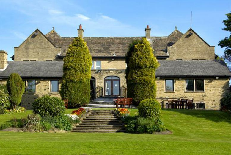 £59 instead of £103.90 (at The Old Golf House Hotel, Huddersfield) for a 1-night stay for 2 people inc. full English breakfast & dinner - save 43%