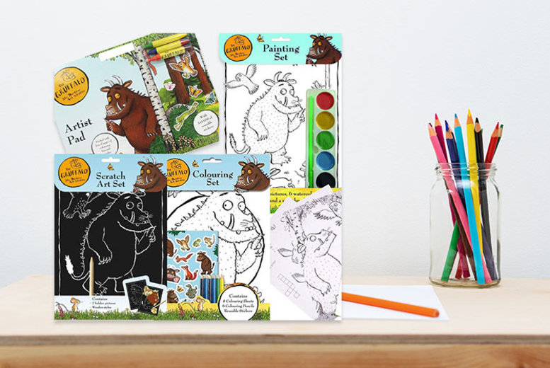 The Gruffalo Art & Craft Set  with Stickers!
