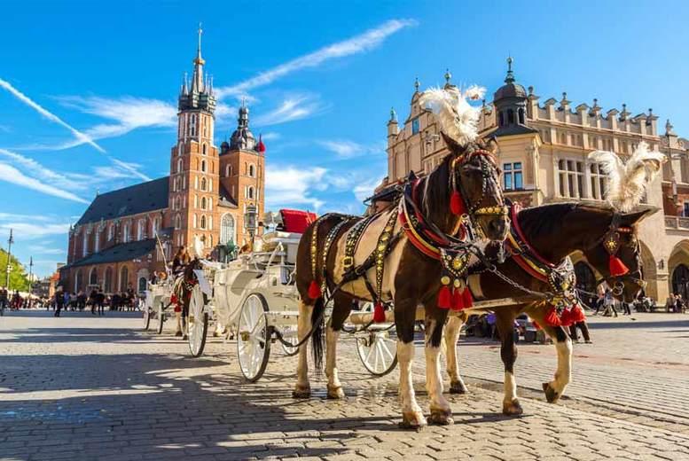 2-3nt Krakow Holiday, Transfers & Flights – Auschwitz Tour Option!