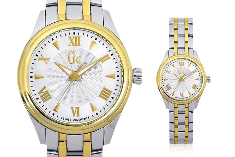 Two-Tone Ladies Smart Class Swiss Watch for £119