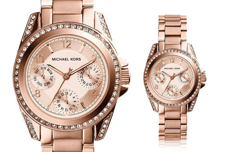 Michael Kors MK5613 Mini Blair Rose Gold Watch for £109