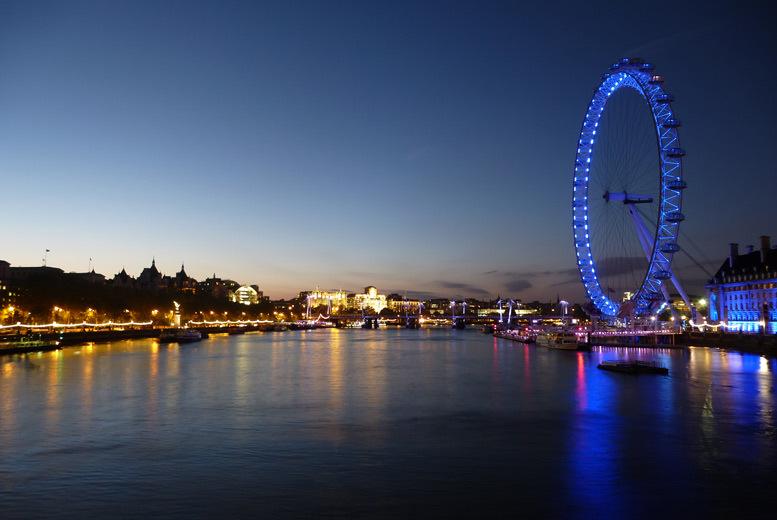 UK City Breaks: 3* or 4* London Break & Attractions - London Eye, Shard, Zoo & More!