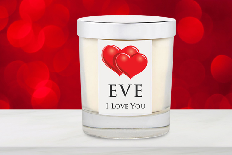 Personalised Luxury Candle – 3 Scents! for £10