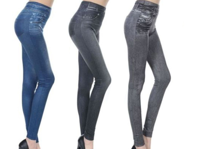 2d37bf1d6ae 3pk of âEUR˜SlimmingâEUR™ Control Jeggings – UK 10-16. – National