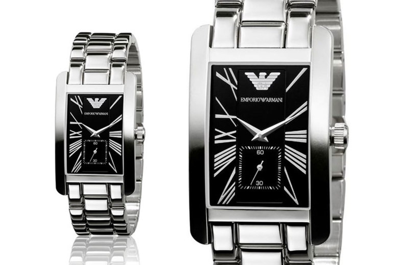 Stainless Steel Emporio Armani AR0156 Mens Watch