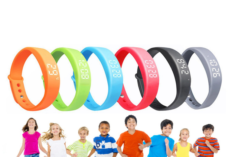 FitStep X-Band Kids' Fitness Tracker – 6 Colours! for £9.99