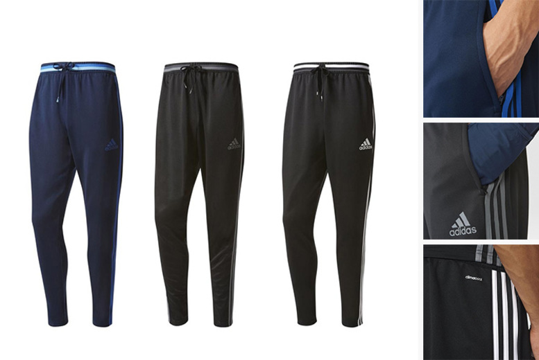 Adidas Condivo Men's Tracksuit Bottoms – 3 Colours & Sizes S-XL! for £24