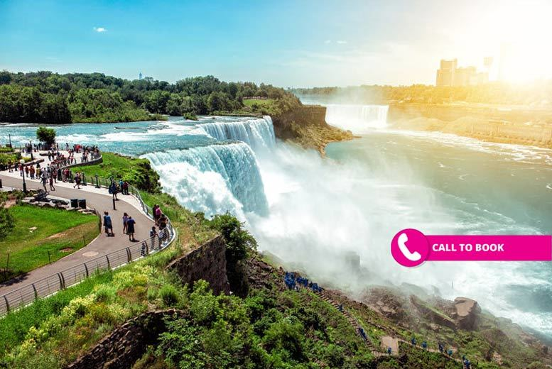 13nt Trip with Niagara Falls and NYC Stays, Caribbean Cruise and Flights