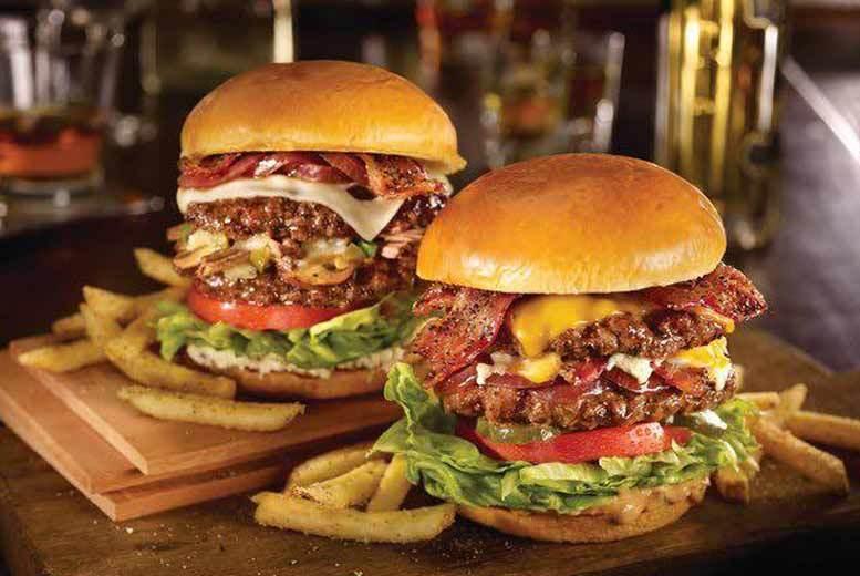 Edinburgh: Buffalo Burger & Cocktail for 2 @ The Greenmantle, Edinburgh Southside from £14