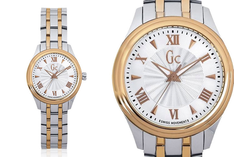 Ladies Two-Tone Smart Class Swiss Watch