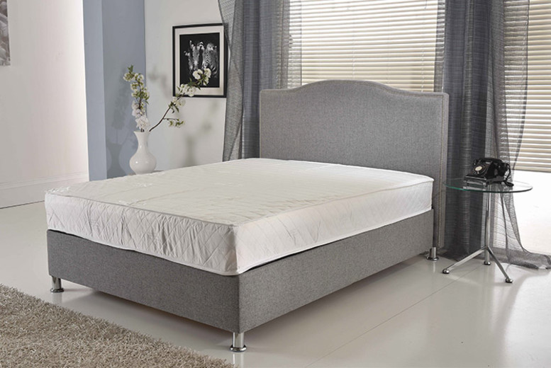 Regal Bonnell Spring Memory Mattress with Pillows – 6 Sizes! from £45