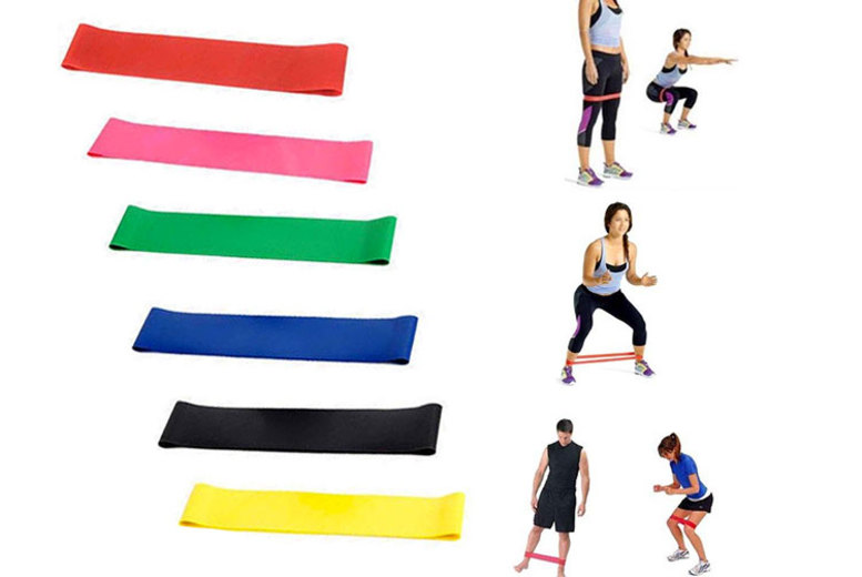 6 Fitness Resistant Bands for £5.99