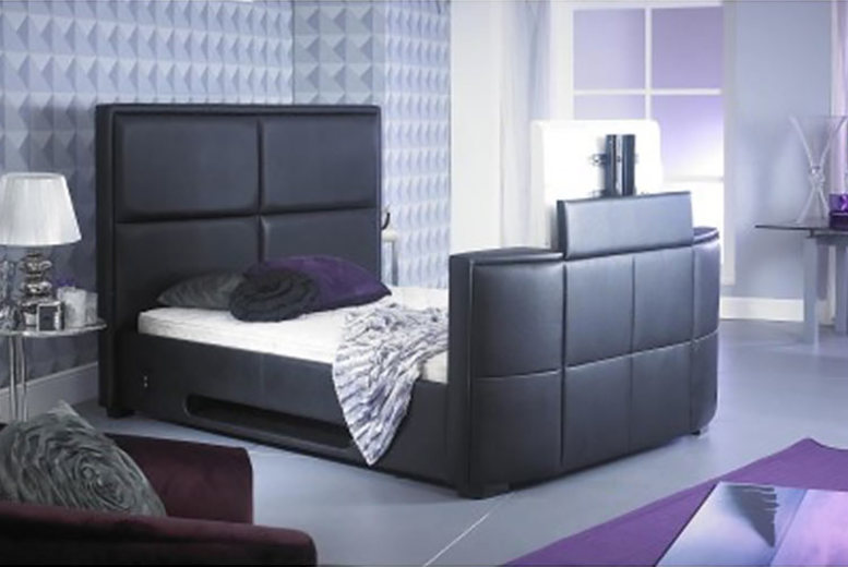 Zynah TV Bed - 2 Sizes & 3 Colours!