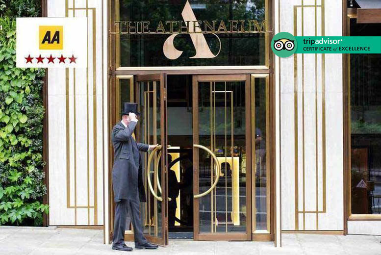 5* Athenaeum Spa Access & Galvin 3-Course Lunch for 2, Mayfair