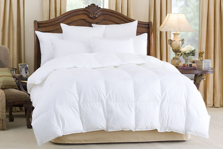 10.5 Tog Goose Feather & Down Duvet - 4 Sizes!