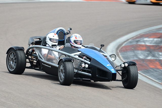 £29 for 3 passenger laps in an Ariel Atom at Supercar Sessions, Edinburgh!