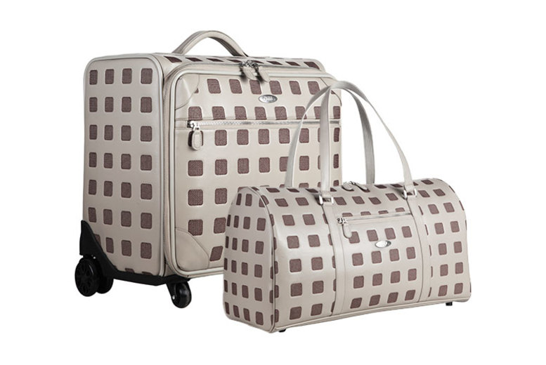 Sterling Rolling Suitcase & Boston Bag  3 Colours!