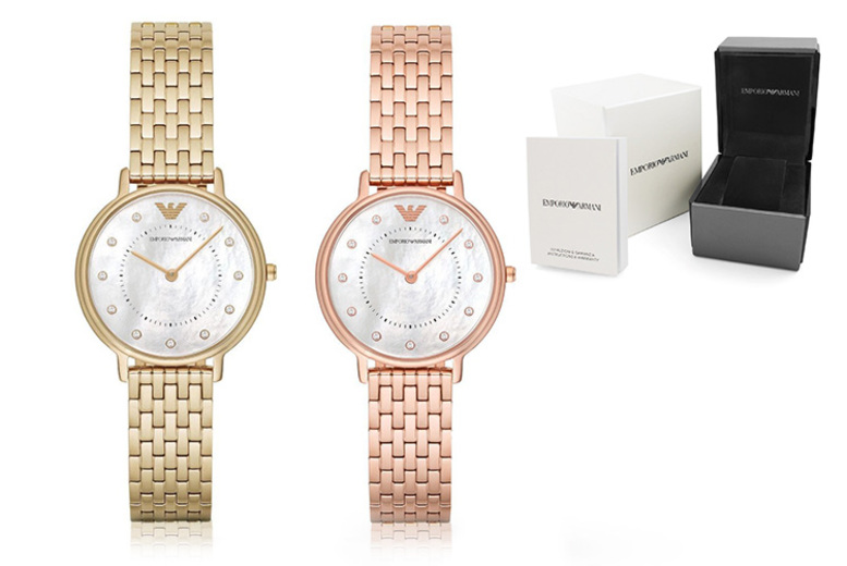 £119 instead of £279 (from Ticara Watches) for a ladies Emporio Armani AR11006 or AR11007 watch - save 57%