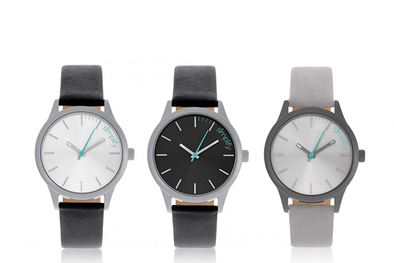 Simplify 2400 Unisex Watches - 7 Designs!