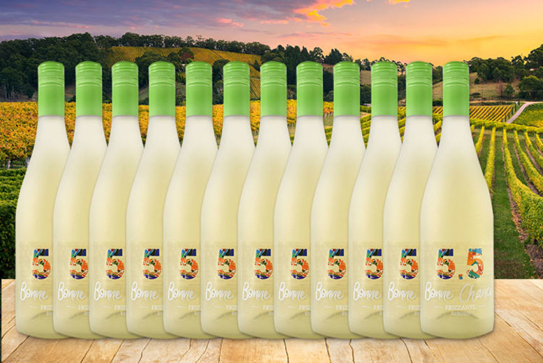 12 Bottles of Verdejo Moscato Frizante White Wine for £39.99