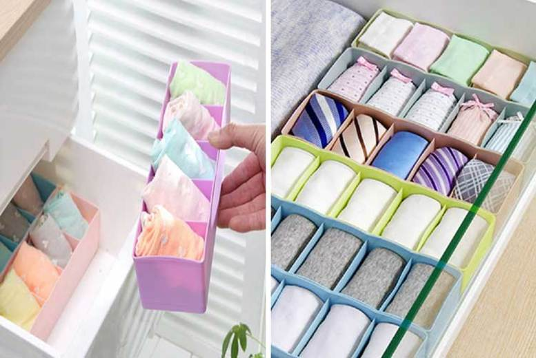 1 or 5 Multi-Function Organiser Boxes – 6 Colours! from £2.99