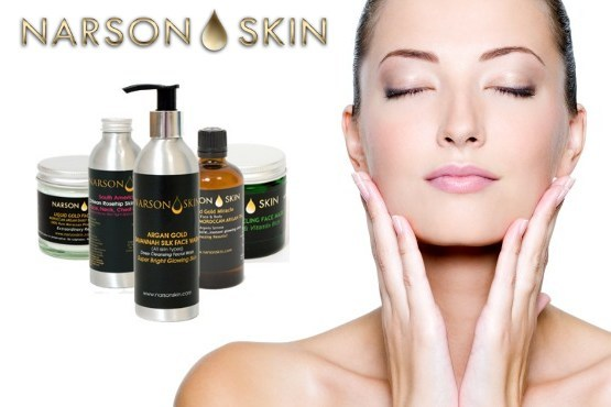 £15 instead of £40 to spend on any Moroccan Argan Oil & Skincare Products from Narson Skin - get glowing & save 62% + FREE DELIVERY!