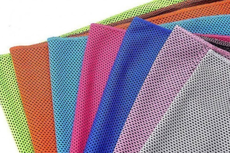 Instant Cooling Towel – 9 Colours! for £3.99