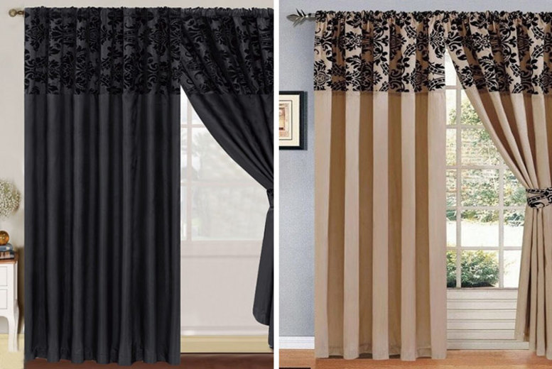 54a05c18a708 Vermont Monochrome Pencil Pleat Curtains | Offer of the day
